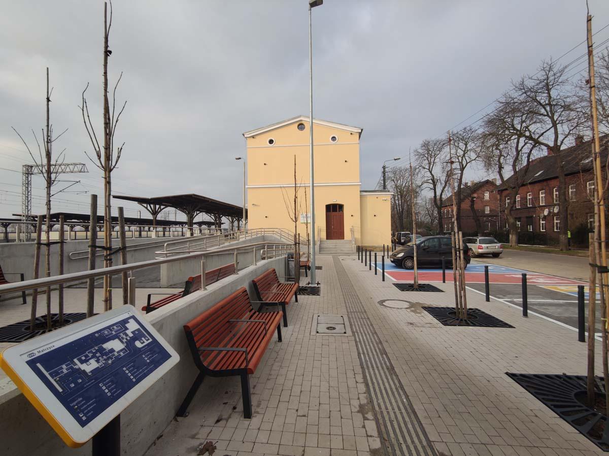 Dworzec w Malczycach